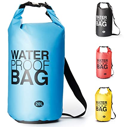 9c9b023de3 Sacca Impermeabili Borsa Waterproof, Borse Impermeabili Dry Bag con  Tracolla Regolabile, per attività all