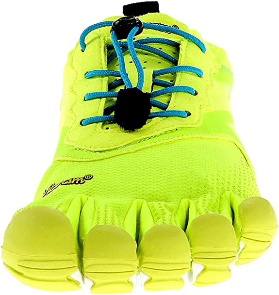 Vibram FiveFingers Bikila Evo, Zapatillas de Running Hombre, Amarillo/Azul (Yellow/Blue), 40 EU: Amazon.es: Zapatos y complementos