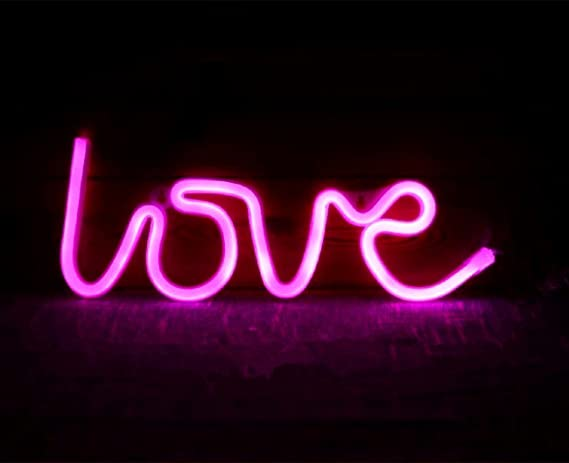 love neon signs led decor light wall decor for christmas decoration birthday party home led decorative