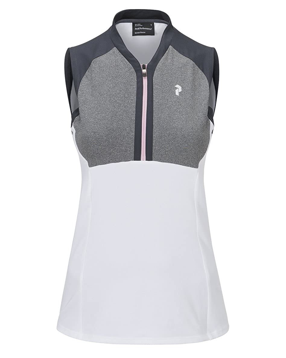 Peak Performance W Golf Sleeveless Polo White: Amazon.es: Ropa y ...