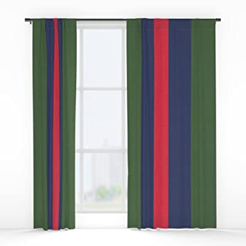 Society6 Remember Classic Gucci Window Curtains Double Panel