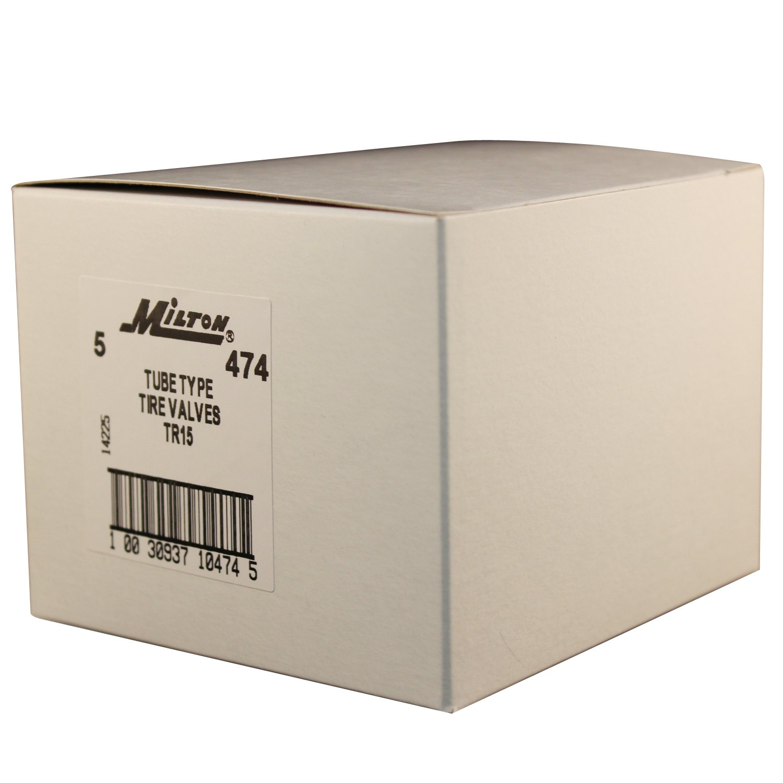 Milton 474 1 3/8'' Patch Tube Type Tire Valve - Box of 5 by Milton Industries