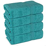 Our towels are made of 100% Ring-Spun 20/2, 2 ply Turkish crafted cotton threat and do not contain any harmful dyes.They are soft to the touch and become even softer after the first wash. These towels are also highly absorbent, durably made and long ...