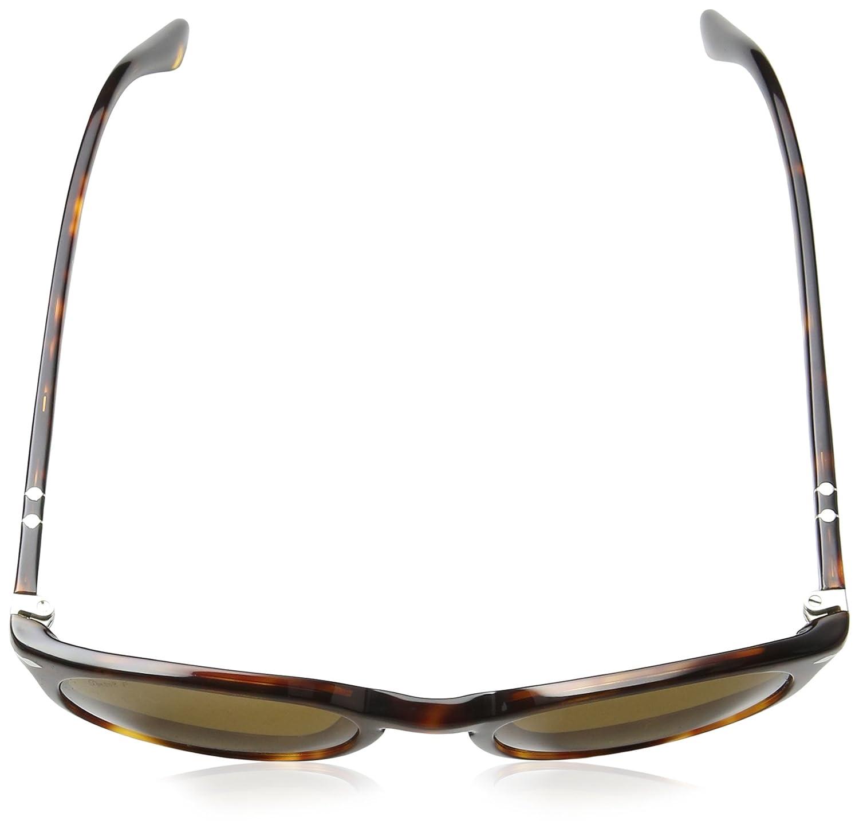 ddca4d38672 Persol Men s PO3152S Sunglasses Havana Polar Brown 52mm at Amazon Men s  Clothing store