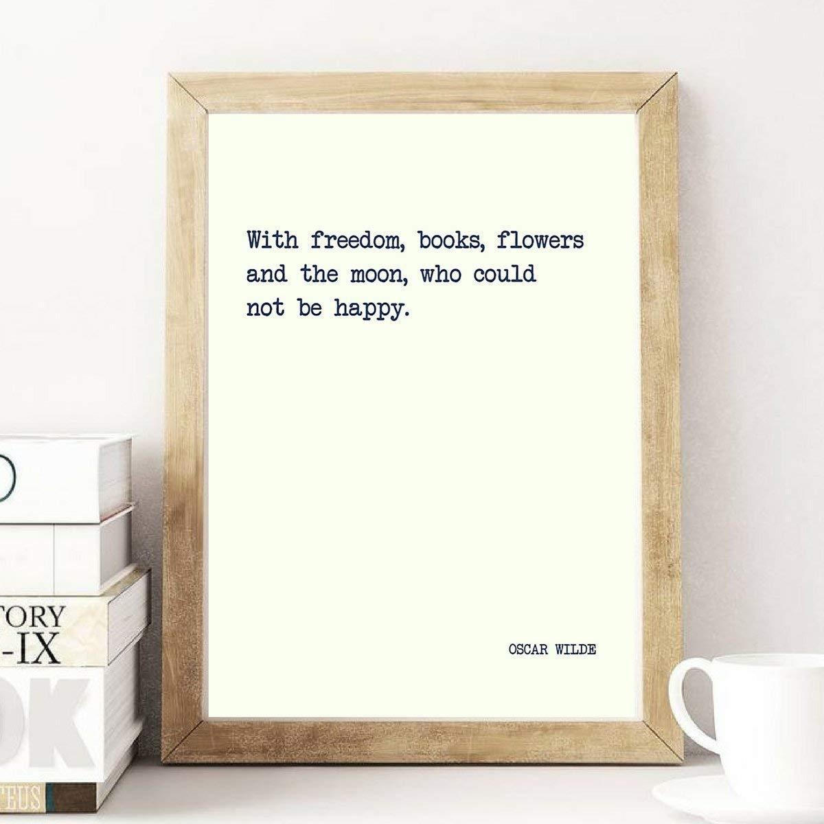 Amazon Freedom Books Flowers Oscar Wilde Literature