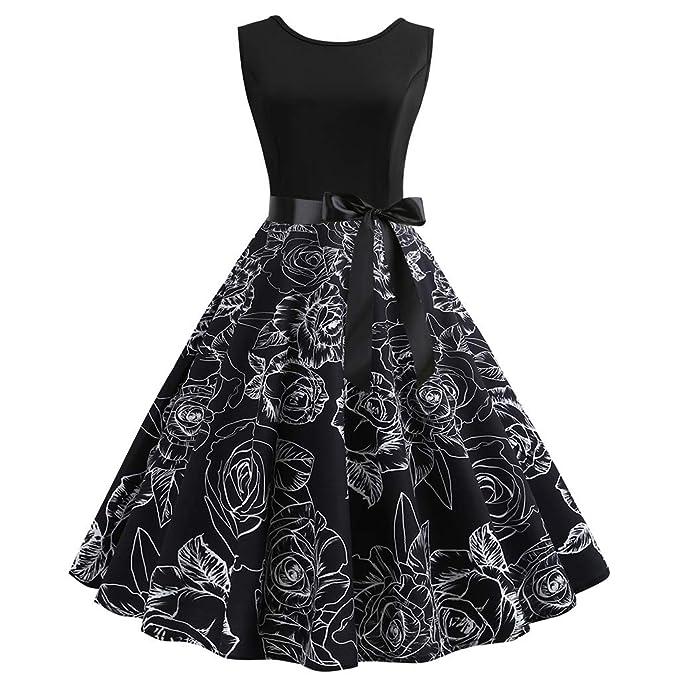 445508696 ABsolute Vestido Vestido Vintage para Mujer