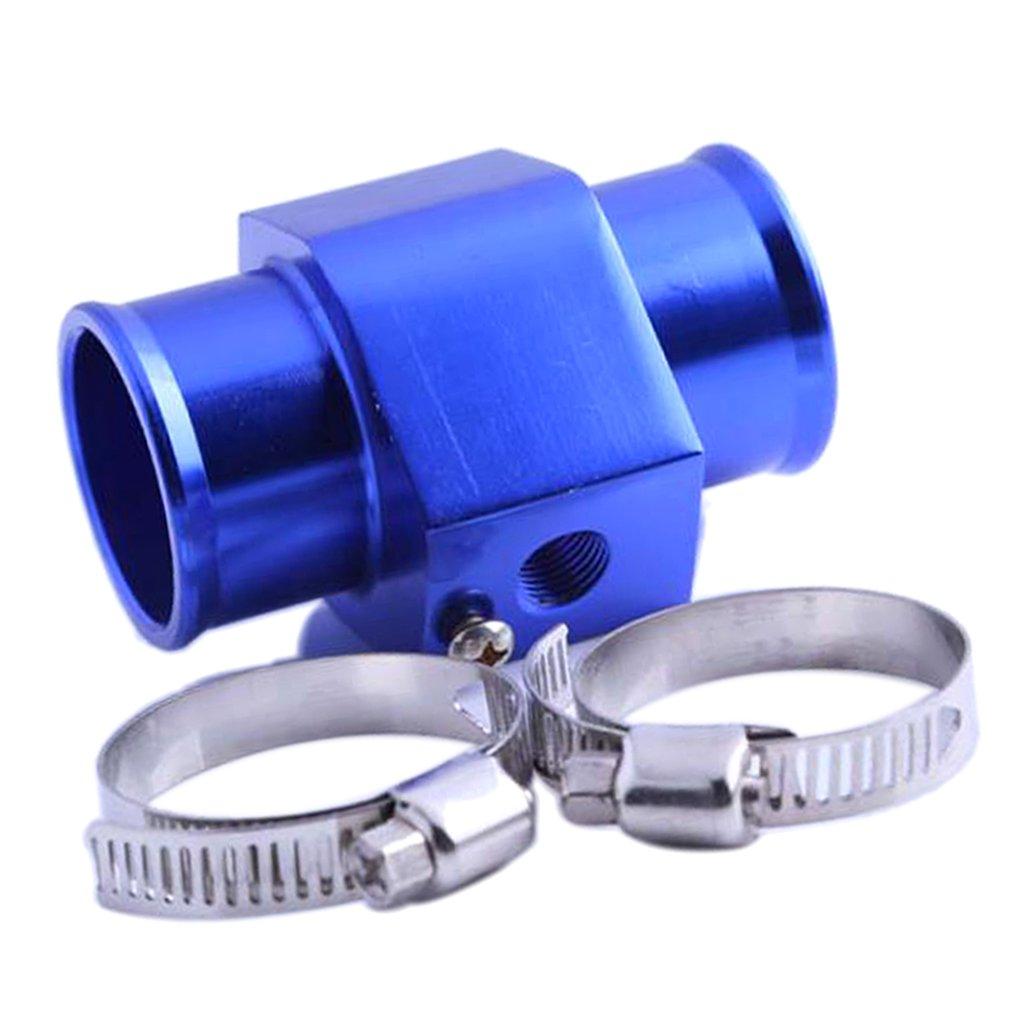 MagiDeal 32 34 36 38 40mm Diametro Temperatura Radiatore Dell'acqua Termosifone Dotato Di Adattatore Tubo Raccordo Con 2 Fascett - 40 mm