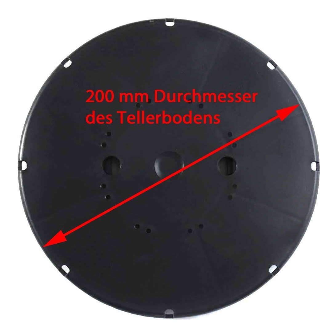 Fliesen 70-120 mm Plattenlager f/ür Keramik Beton Auflagefu/ß Terrassentr/äger Stelzlager Drehfu/ß Plattentr/äger St/ützenfu/ß Gartenwelt Riegelsberger 80 St/ück