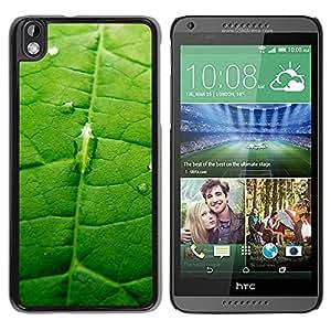 Camino del Medio es la clave - Metal de aluminio y de plástico duro Caja del teléfono - Negro - HTC DESIRE 816