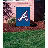 "MLB Atlanta Braves Sports Team Logo Garden/Window Flag 15"" x 10.5"""