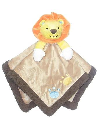 Amazon.com: Bebé león Snuggle Buddy manta de seguridad por ...