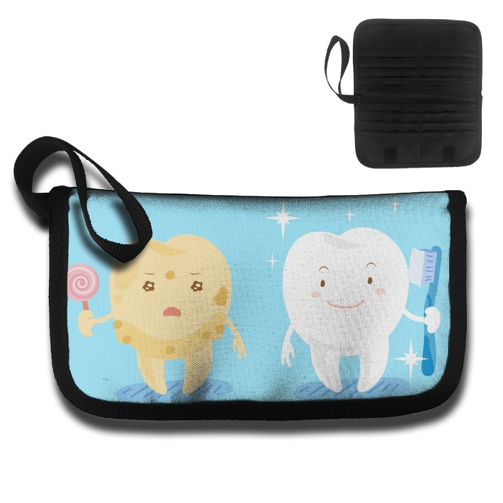 Forbidden Love Candy And Tooth Multi-function Travel Document Receipt And Receipt Bag Fashion Printing Card Package