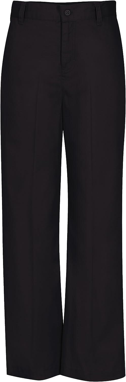 16 1//2 CLASSROOM Big Girls  Plus-Size Plus Flat Front Trouser Pant Black