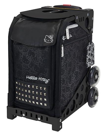 Zuca Hello Kitty, Haute Glam Sport Bag and Black Frame with Flashing Wheels ab3cc978b5