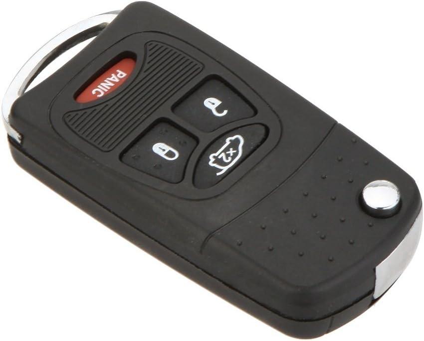 de la marca Katur Carcasa de 4 botones para llave de coche Chrysler