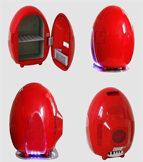 Aussehen Gr/ö/ße:33X32 X 45cm WGL Mini Portable Auto K/ühlschrank 10L Ei Form Auto Reise Cold Cabinet ,Red