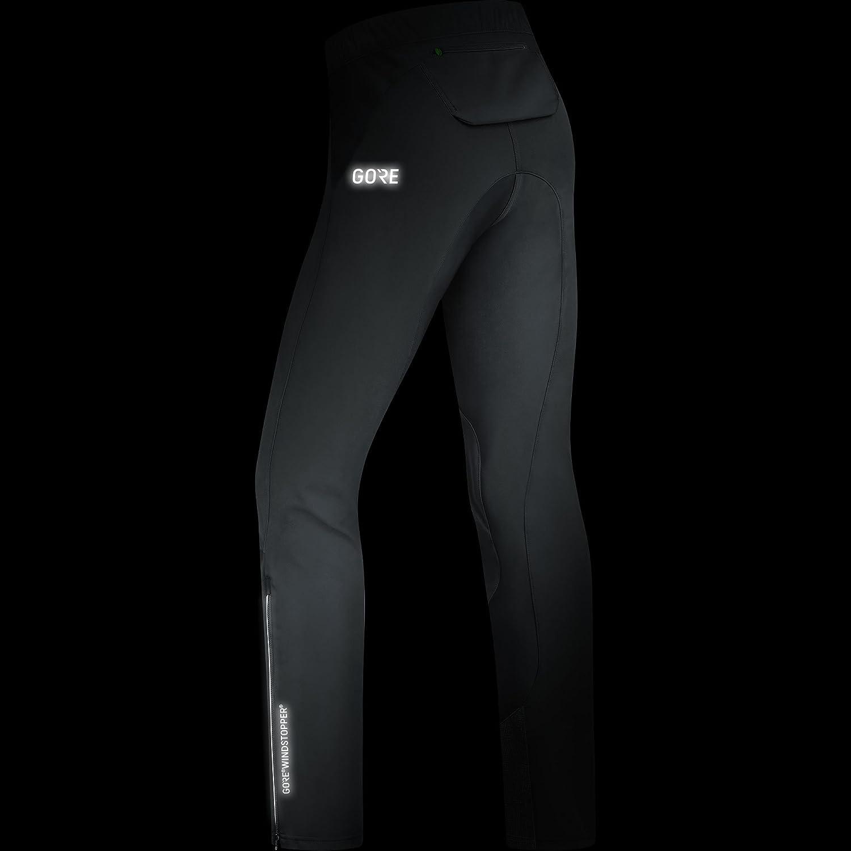 XXL 100375 C5 GORE WINDSTOPPER Trail Pants Nero GORE Wear Pantaloni antivento da ciclismo per uomo
