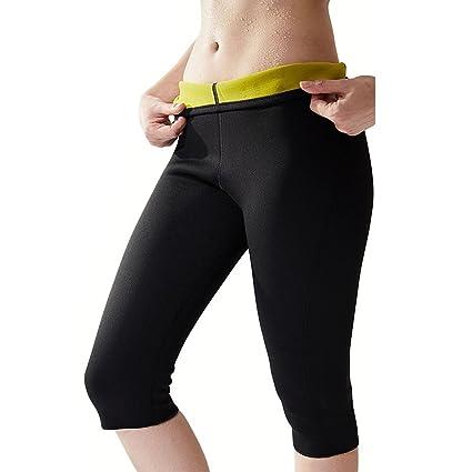 f889026401e Hanmeimei Women s Hot Sweat Body Shaper Neoprene Thigh Fat Burning Slimming  Sauna Suit Calorie Burner for