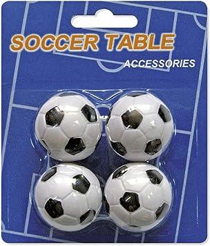 Devessport - Futbolín - Paquete de 4 Bolas de 35mm - Fabricadas en ...