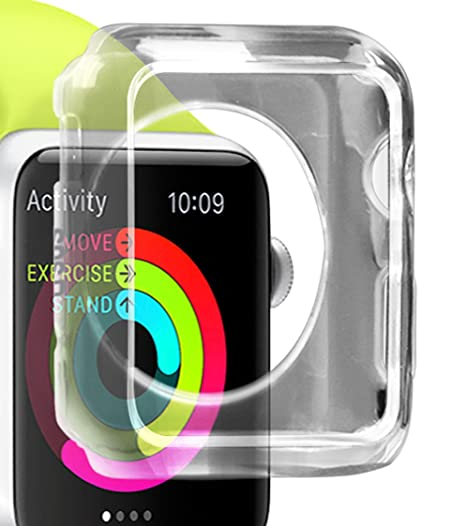 SBS Aero Case Transparente - Accesorios de Relojes Inteligentes (Case, Transparente, Apple,