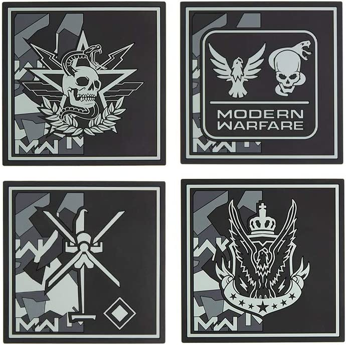 Amazon Com Official Call Of Duty Modern Warfare Coasters Pack
