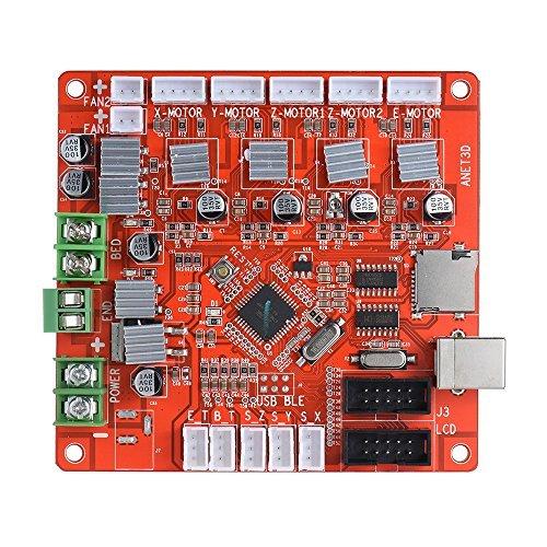 KKmoon Anet A1284-Base Control Board Mother Board Mainboard DIY Self Assembly 3D Desktop Printer RepRap i3 Kit by KKmoon