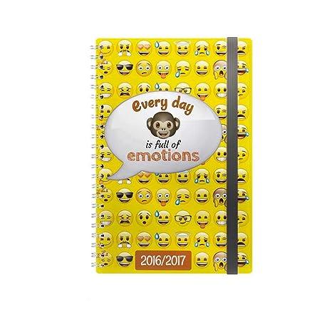 Agenda Everyday is full of emoticons by emoji®: Amazon.es: Hogar