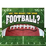 Breakaway Football Banner - 6' x 12' – 'Are You Ready for Some Football?' #2