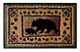 Champion Rugs Rustic Lodge Log Cabin Bear and Cub Area Rug (2 Feet X 3 Feet 2 Inch Mat) Review