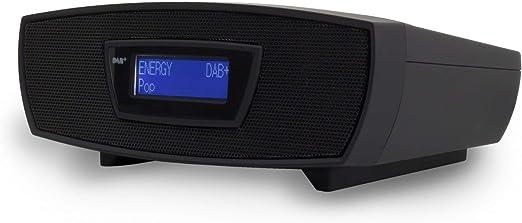 Soundmaster Urd480sw Dab Ukw Digital Radio Wecker Mit Cd Mp3 Resumefunktion Und Usb
