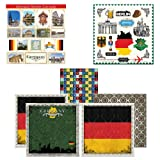 Scrapbook Customs Themed Paper and Stickers Scrapbook Kit, Germany Sightseeing