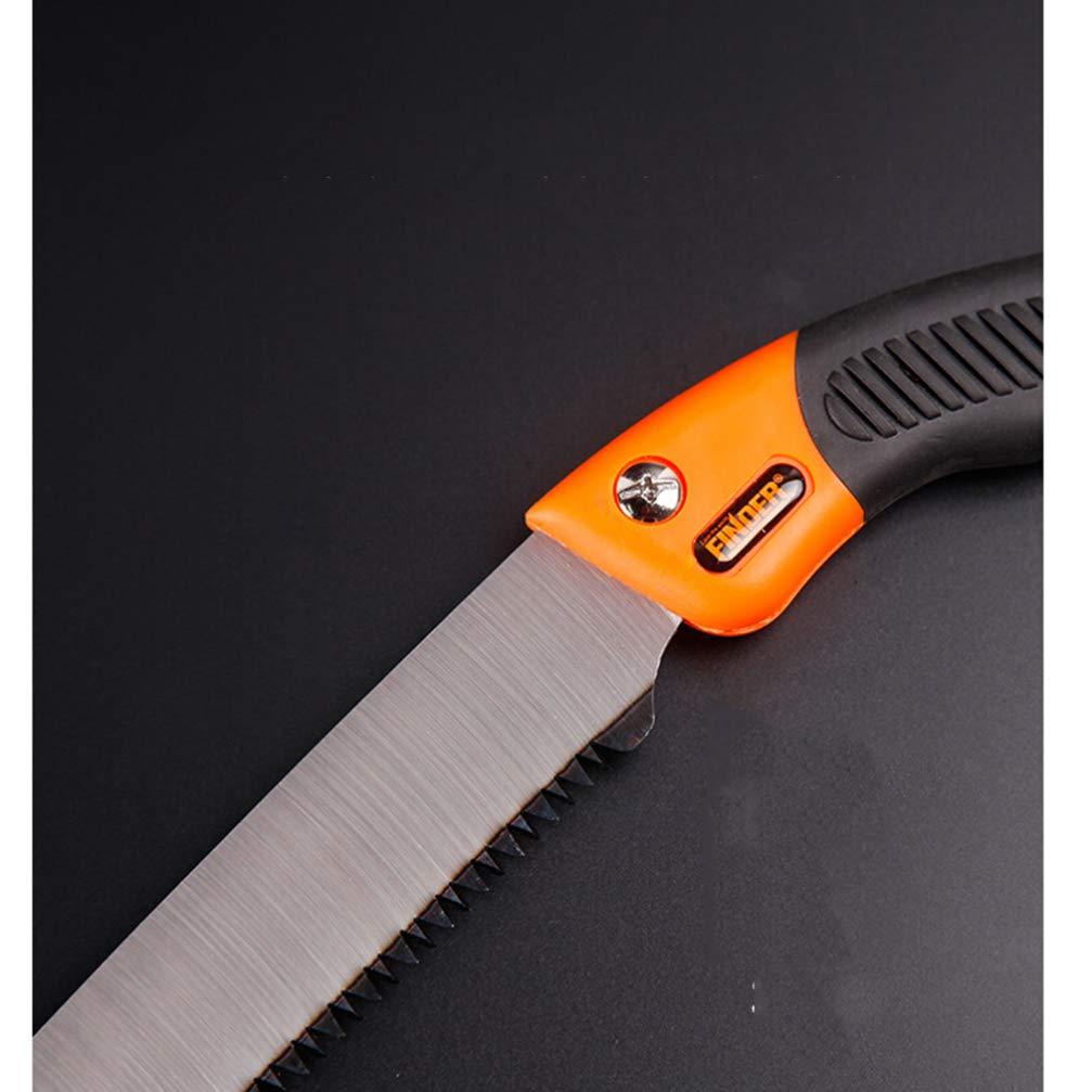 DOITOOL 1 scie /à main Pc avec scie /à bois Sharp Razor Sharp pour couper les arbres /à bois D/écouper le jardinage /Élagage Travail du bois