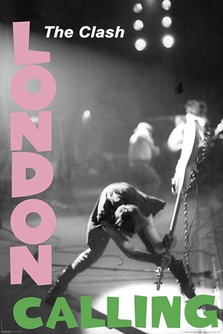 617705bfdf Amazon.com  Pyramid America The Clash London Calling Music Poster ...