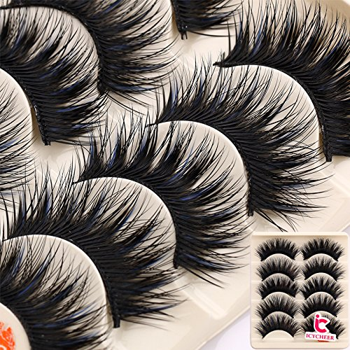 Beauty & Health Self-Conscious 5 Pairs Mink Hair False Eyelashes Natural Thick Long Soft Eye Lashes Makeup Extension Tools 2019 Hot 6 Styles 2019 New Fashion Style Online False Eyelashes