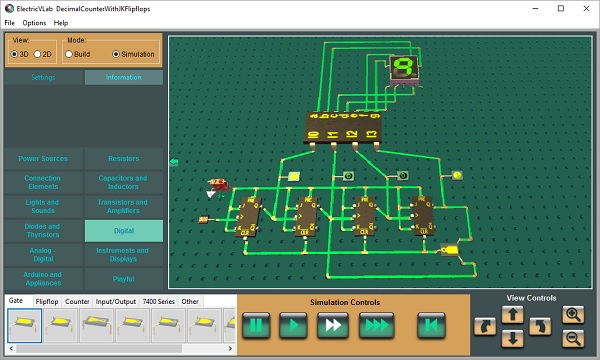 ElectricVLab : 3D Virtual Lab for Electricity ...