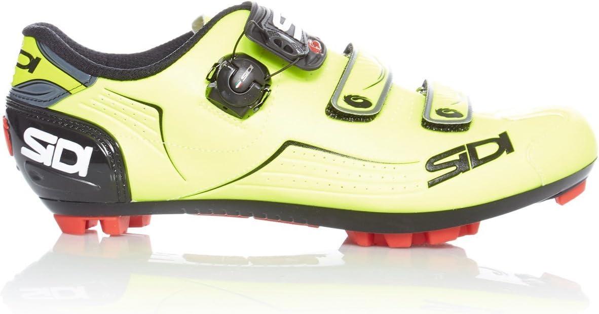 Zapatillas MTB Sidi Trace Amarillo Fluorescent-Negro (EU 46 ...