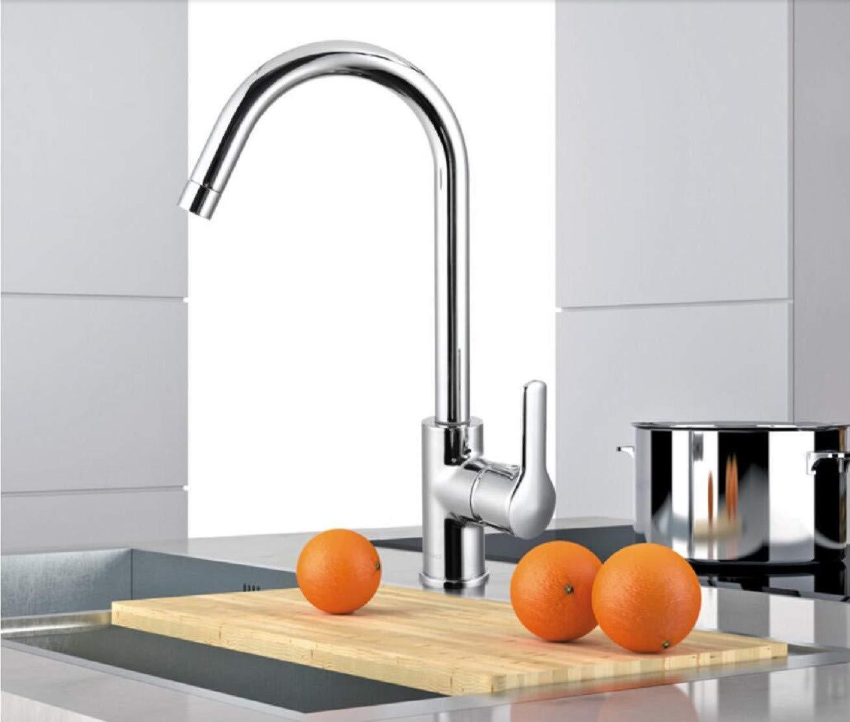 Wasserhahn Küche Küchenarmatur Spültischarmatur Spüle Kalt - Heiß Wasserhahn Doppel - Tank Waschbecken Wasserhahn