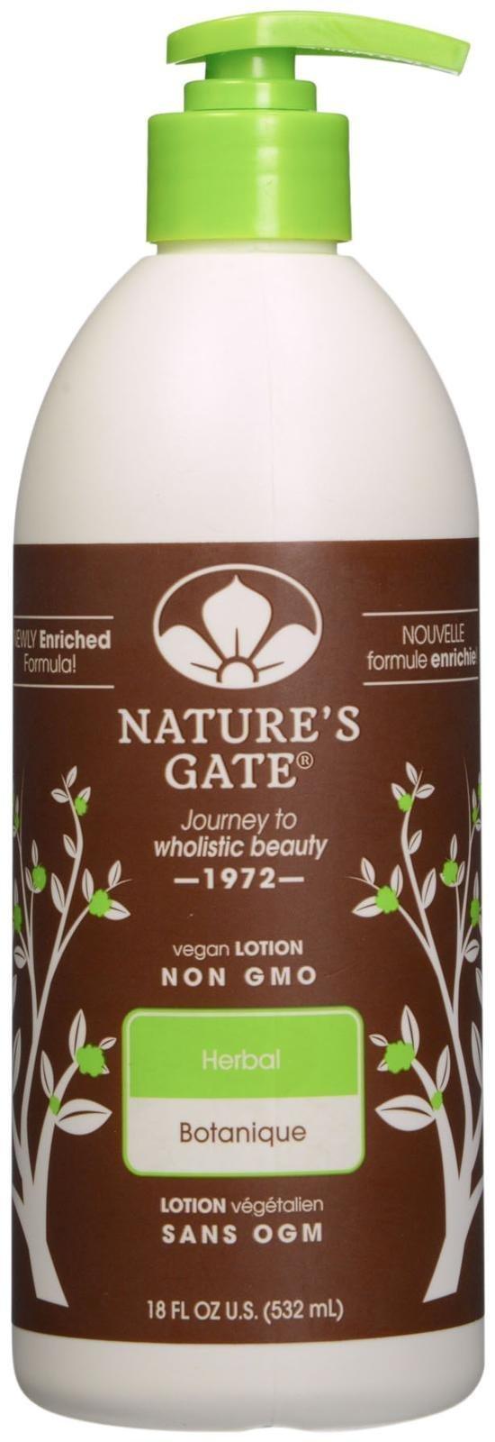Nature S Gate Herbal Moisturizing Lotion