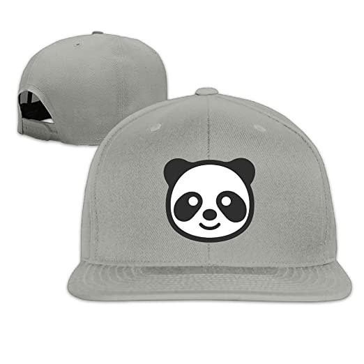 841d431c4d2 Amazon.com  Panda Funny Women Fitted Snapback Hats for Men  Clothing