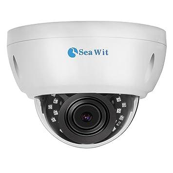 Sea Wit Cámara IP Domo Cámaras de vigilancia Interior/Exterior, 1080P, PoE(