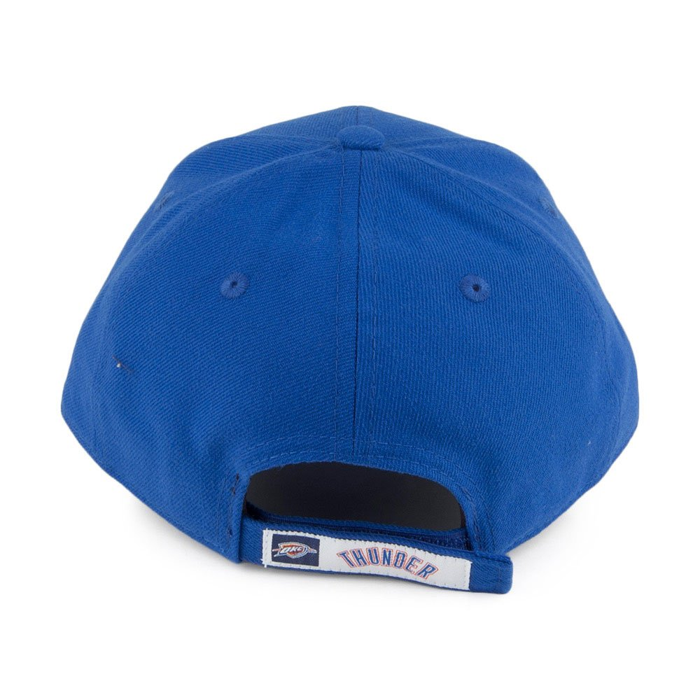 4a46028b916 Amazon.com  New Era NBA 9FORTY Oklahoma City Thunder Hat The League Adult  Adjustable Cap Navy Blue  Clothing