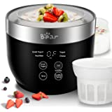 Amazon Com Tribest A Yl 210ra Yolife Yogurt Maker Large Black Starter Yolife Kitchen Dining