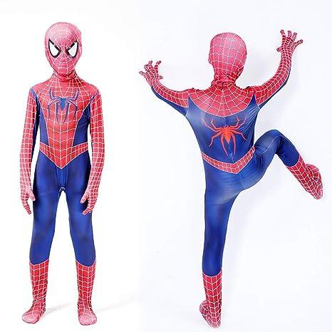 ERTSDFXA Traje De Cuerpo Completo De Spiderman Traje De ...