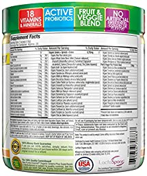 Purely Inspired Organic Greens, USDA Organic, Super Greens Powder, Unflavored, 7.17oz (203g), 20 servings
