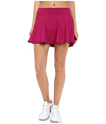 Nike Women's Court Baseline Tennis Skirt Dynamic Berry/Dynamic XS ...
