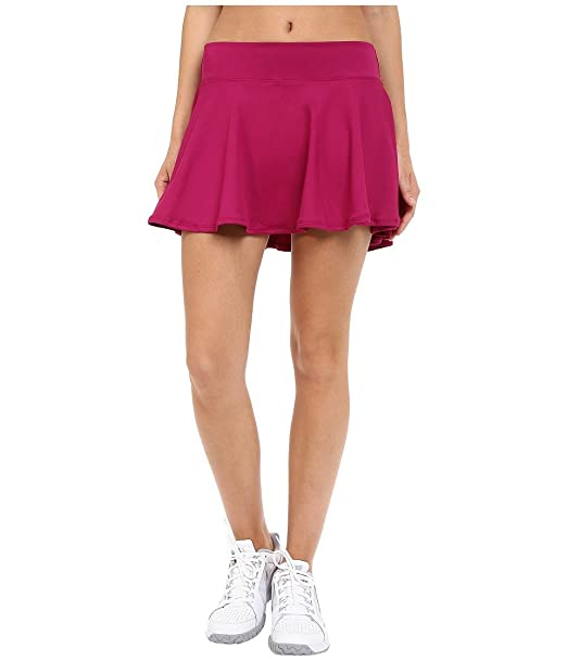 Nike Women's Court Baseline Tennis Skirt Dynamic Berry/Dynamic XS ...