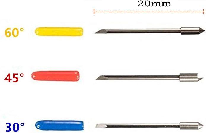 Wadoy CB09 Graphtec - Soporte para cuchillas (15 piezas, hoja ...