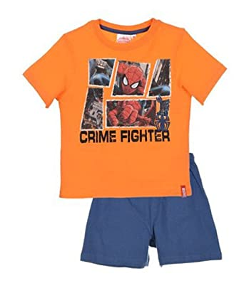 Spring Summer Collection SPIDERMAN Crimefighter Short Sleeve Pyjamas