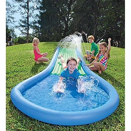 Amazon.com: Hinchable Tobogán de agua fiesta de cumpleaños ...