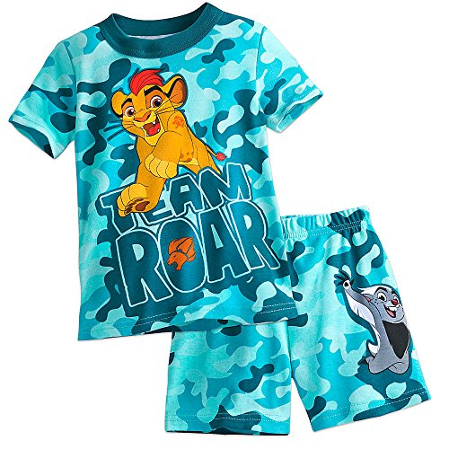 Price comparison product image Disney The Lion Guard PJ PALS Pajamas Short Set for Boys Size 7